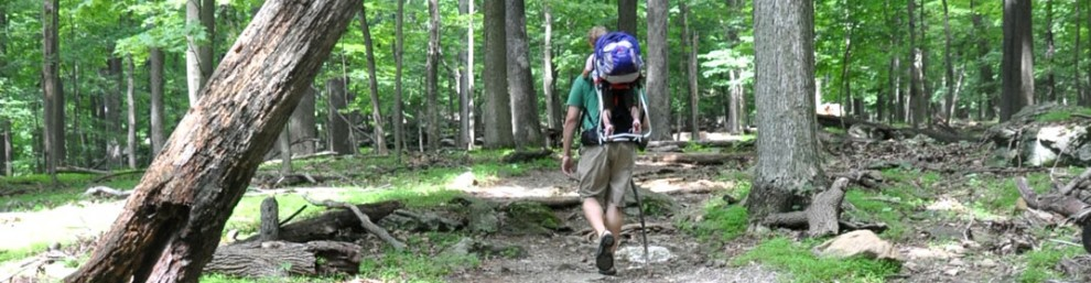 Hitting the trail at Cunningham Falls State Park