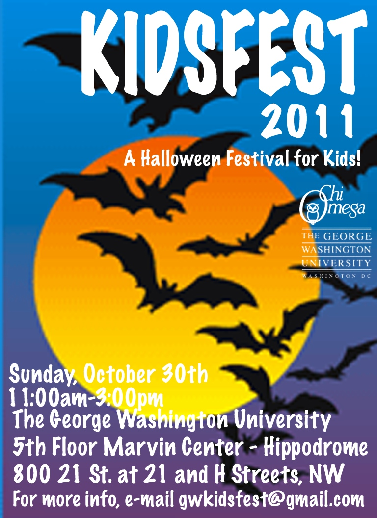 gwu is hosting this event for families to celebrate halloween in a safe environment the festival will include activity booths - Halloween Events Maryland