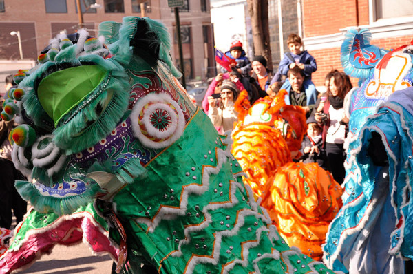 Celebrate the Year of the Horse at the annual Chinese New Year Parade in Chinatown on Sunday