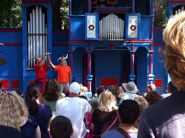 So many fun shows, and audience participation is encouraged