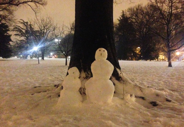 Winter in DC, after hours