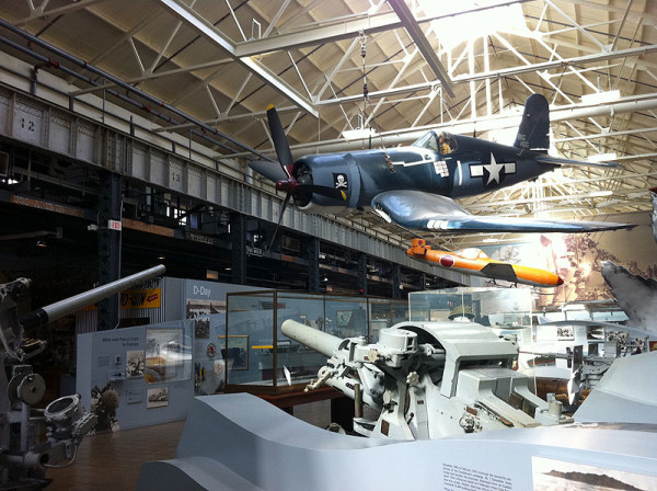 A hangar full of eye-popping displays at the U.S. Navy Museum