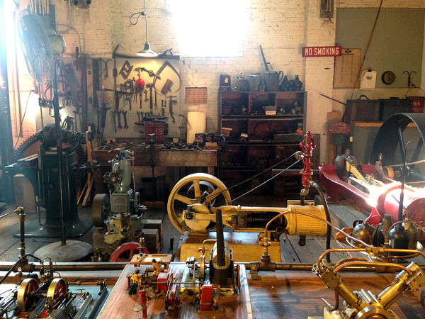 Gadgets galore in the Machine Shop