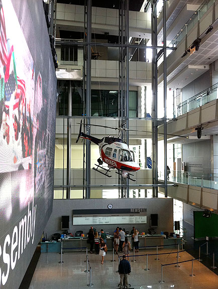 Visit the Newseum for FREE during Museum Day Live!