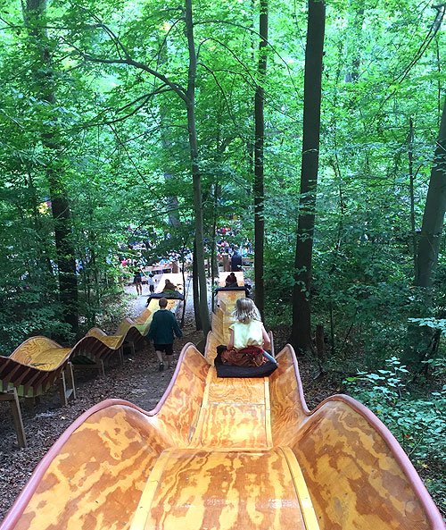 The slide at Revel Grove is a Ren Fest must-do