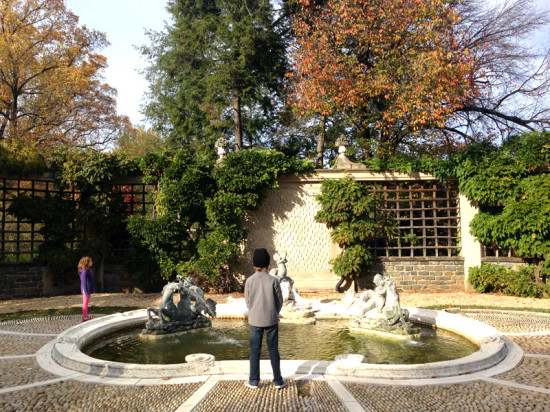 Roam the gardens at Dumbarton Oaks for free through mid-March!