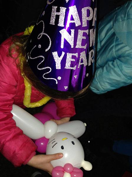 Noon Yards Eve features balloon art and tons more fun for kids