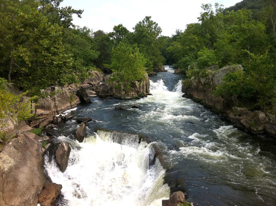 Hike and take in the beautiful scenery at Great Falls