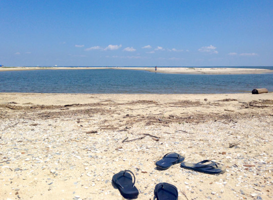 Kick off the flip flops and enjoy a day at Flag Ponds