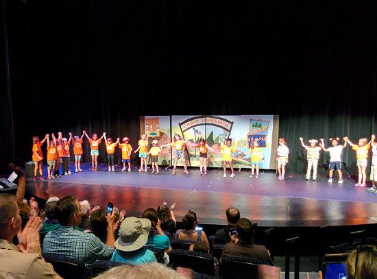 A brilliant performance by Adventure Theatre summer campers